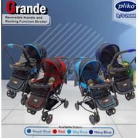 stroller pliko grande pk 268 dorongan bayi