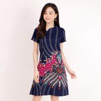 Baju Batik Wanita - Dress Batik Cewek Modern 607 Hxo