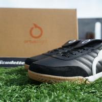Sepatu Futsal Ortuseight Jogosala Rabona Black White Gum Murah - 43