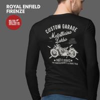 Kaos Lengan Panjang Royal Enfield Motor Firenze Bikers Brotherhood - L