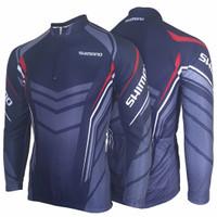 baju sepeda panjang pria wanita jersey roadbike shimano