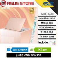ASUS VIVOBOOK 14 K413EQ-EB553TS - i5-1135G7 8GB 512GB MX350 2GB 14 OHS