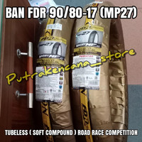 BAN FDR 90/80-17 MP27 SOFT COMPOUND ROAD RACE COMPETITION