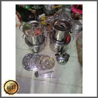 Panci Saito Okonabe 555 Stockpot jumbo stainless steel + Steamer