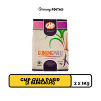 GMP Gula Pasir 1kg - 2 BUNGKUS