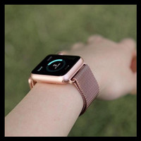 Special Price Strap Apple Watch Se 6 5 4 3 Milanese Loop Strap Iwatch