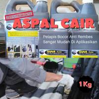 Aspal Cair Anti Rembes Anti Bocor Lantai Atap Dak 1kg