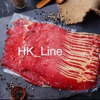 DAGING SAPI AUS BEEF BRISKET SLICE/YAKINIKU/SUKIYAKI/SHABU BEEF 500GR