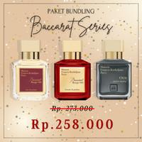 Paket Parfum Baccarat Extrait & Rouge 540 & Oud Satin 70ml Original SG