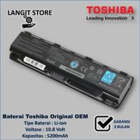 Baterai Laptop TOSHIBA C800/C840/C855/L830/L840/L850/L875/M840/S855