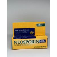 Neosporin Dual Action + Pain Relief Ointment - Neosporin