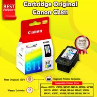 Canon CL811 CL-811 Original Cartridge Tinta iP2770 MP287 MX426 MX366