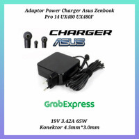 Adaptor Power Charger Asus Zenbook Pro 14 UX480 UX480F 19V 3.42A 65W