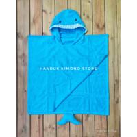 Handuk Ponco / Handuk Mandi / Baju Mandi Anak Usia 4 - 7 Tahun Cotton