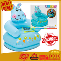 Intex Inflatable Sofa Hippo. Sofa Angin Duduk Pompa Balon Anak