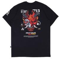 KREMLIN Electropunk T-shirt Kaos Hitam - Demonic - Black