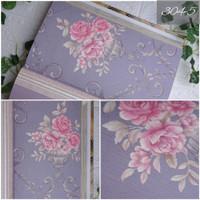 [MURAH] Jual wallpaper dinding premium motif bunga