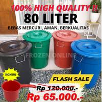 Ember 80 Liter Plastik / Gentong bak air mandi / tong air Plastik Cuci