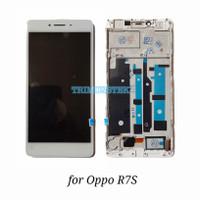 Lcd + Touchscreen Fullset Frame Oppo R7S 5.5