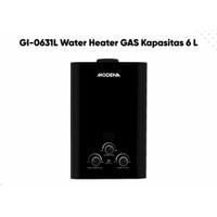 MODENA Gas Water Heater 6 Liter GI 0631 L Pemanas Air Gas GI-0631L