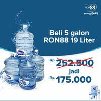 RON88 GALON + ISI AIR 19 LITER minimal 5 galon