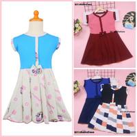 Dress Lala uk 5-6 Tahun / Dres Anak Perempuan Cewek Baju Batik Murah
