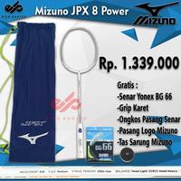 Promo Raket Badminton Mizuno JPX 8 Power (Yonex BG 66)