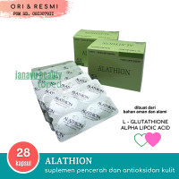 Alathion Suplemen Anti Oksidan dan Pencerah Kulit