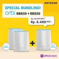 NETGEAR Bundling RBK50 RBS50 Orbi Mesh WiFi RBK 50 RBS 50 - Certified Renew
