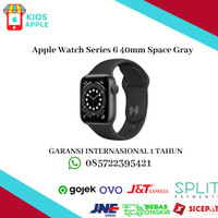 Apple Watch Series 6 40mm Space Gray MG133 Aluminum with Sport Band