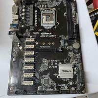 Asrock H110 Pro BTC 12 Slot Mining Motherboard Intel 1151 DDR4