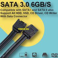 Kabel sata 3 ASUS untuk PC HDD SSD / Kabel sata hardisk internal