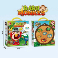 MAINAN BIG MOUTH BABY MONKEY AIRSOFT SERIES BOARD GAME FAMILY GAME