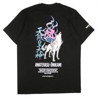 KREMLIN Mythology V.1 T-shirt Kaos Hitam - Amaterasu - Black