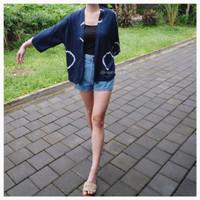 luaran outerwear outer tiedye shibori baju