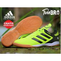 Sepatu futsal adidas copa teralaris - 41, stabilo hitam