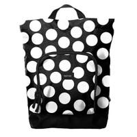 MOTIVIGA Brie Polkadot Black - Backpack
