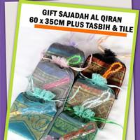 Parsel Ramadan GIFT sajadah +Tasbih+Tile
