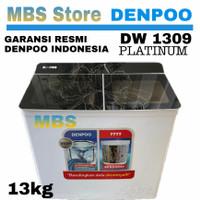 Mesin Cuci 2 Tabung Denpoo DW 1309 Platinum ( 13KG )