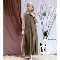baju gamis wanita F01 WIRASHA MAXY dress gamis nisa sabyan maxi dress