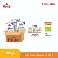 Holle Organic Infant Growing-up Formula 3 ( 3 pcs )