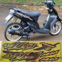 Striping Mio thailand mio sporty variasi stiker mio urban gold