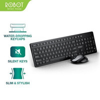 Robot KM4000 Wireless Keyboard Mouse Combo