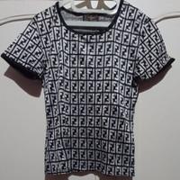 Fendi Shirt Atasan Wanita Size S