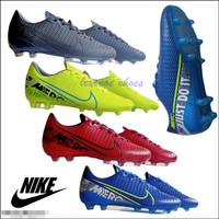 Sepatu Bola Nike Mercurial X Kualitas Grad Ori Awet dan Nyaman - Hijau, 40