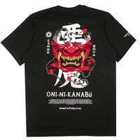 KREMLIN Mythology V.1 T-shirt Kaos Hitam - Oni ni kanabo - Black