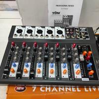 mixer audio Tum 7 channel