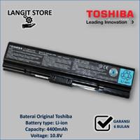Original Baterai/Batre Laptop TOSHIBA Satellite A200 A205 L200 M200