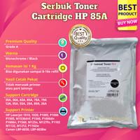 Serbuk Toner Premium Monochrome CE285A Printer laserjet Canon LBP 6030