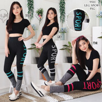 Setelan baju senam wanita fitness olahraga gym yoga zumba wanita